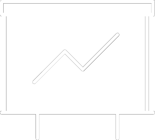 icon of line graph for growth in how we serve