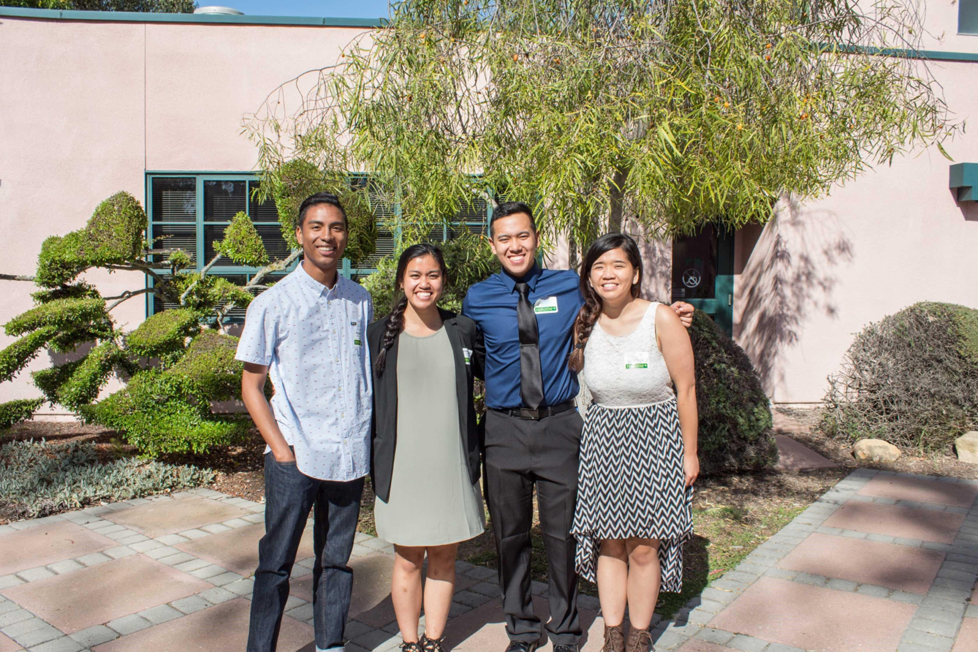 photo of UCSB students for preparation programs and scholarships